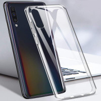 Прозрачный кристаллический чехол для Samsung Galaxy A30 A50 A70 Huawei P30 P20 Honor Xiaomi Redmi iPhone 11