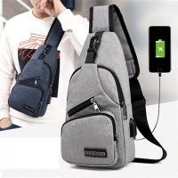 Мужская сумка с USB зарядкой Crossbody Original Msize