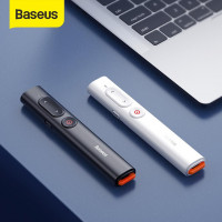 Беспроводная указка Baseus Orange Dot Wireless Presenter (Red Laser) Grey