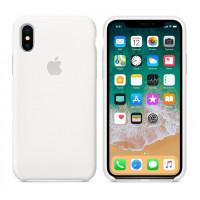Чехол Apple Silicone Case для iPhone X, белый